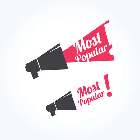 most popular: Most Popular Megaphone Icon