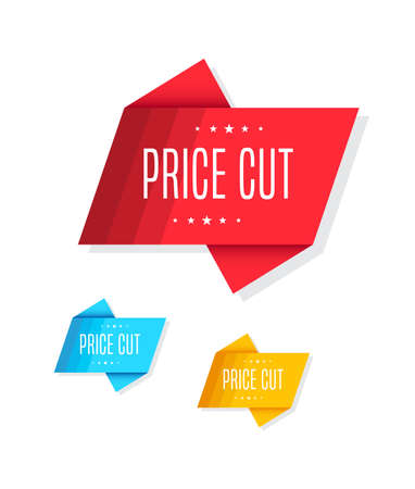 price cut: Price Cut Tags
