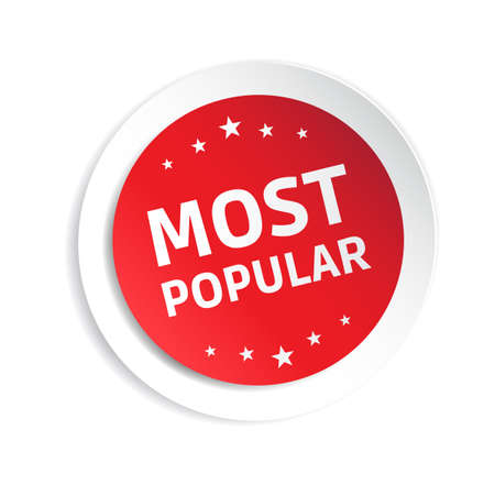 popular: Most Popular Sticker Illustration
