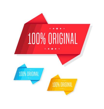 original: 100% Original Tags Illustration