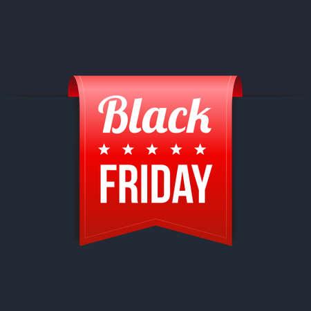 black: Black Friday Red Label