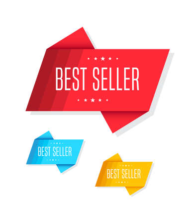 seller: Best Seller Tags Illustration