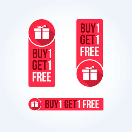 1: Buy 1 Get 1 Free Labels