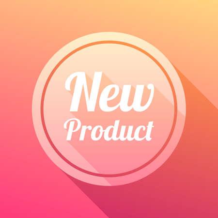 New Product Label Vektorové ilustrace