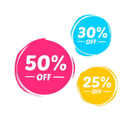 50: 50%, 30% & 25% Off Marks