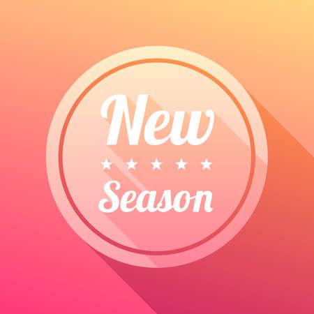season: New Season Label