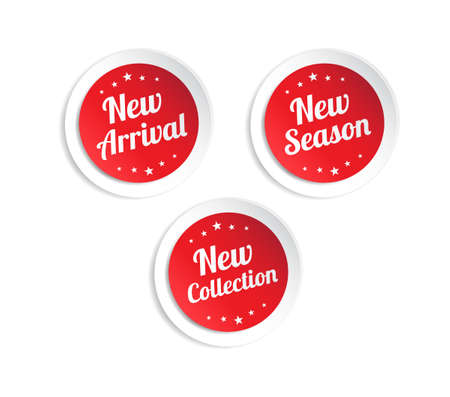 new arrivals: New Arrival, New Season & New Collection Stickers