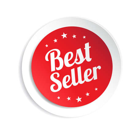 seller: Best Seller Sticker Illustration