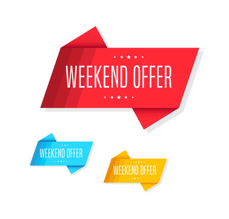 weekend: Weekend Offer Tags