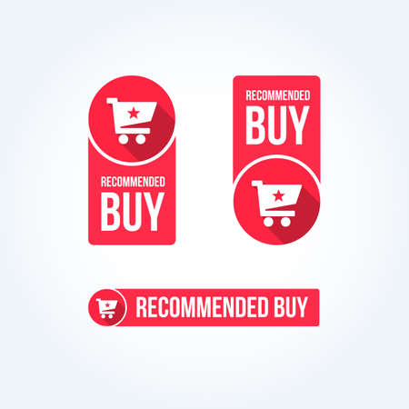 grand sale sticker: Recommended Buy Labels