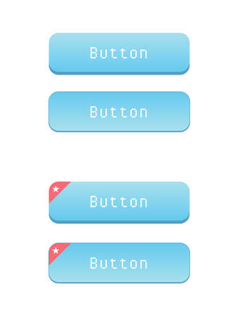 web: Web Buttons Illustration