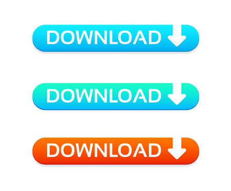 web buttons: Download Web Buttons Illustration