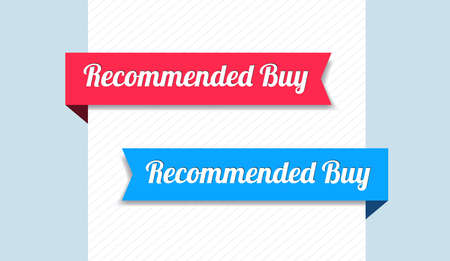 recommended: Recommended Buy Ribbons Illustration