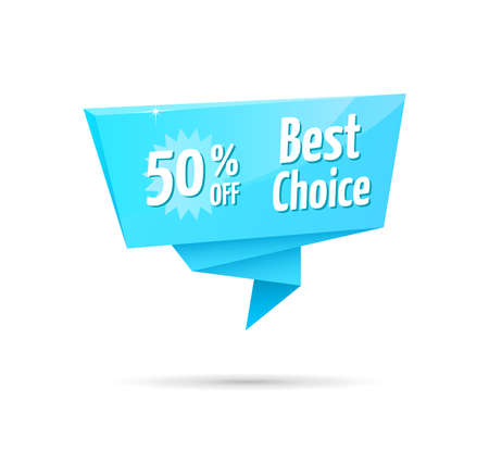 50: Best Choice 50% Off Blue Tag