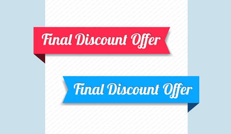 final: Final Discount Offer Ribbons