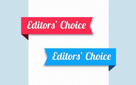 editors: Editors Choice Ribbons Illustration