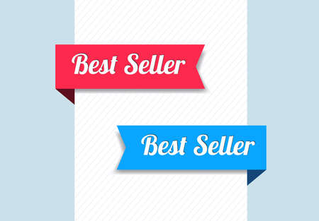 seller: Best Seller Ribbons Illustration