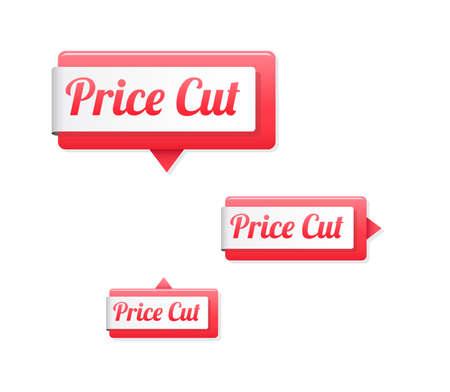 price cut: Price Cut Tags