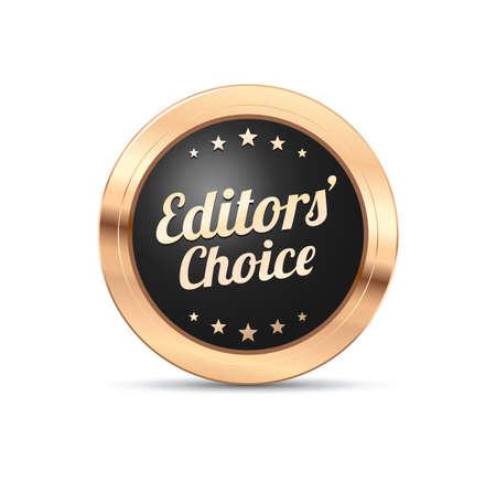 editors: Editors Choice Badge Illustration