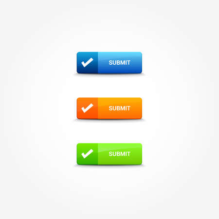 web buttons: Submit Web Buttons