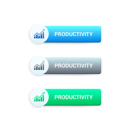 productivity: Productivity Buttons