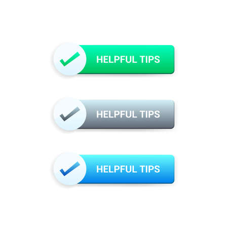 helpful: Helpful Tips Buttons