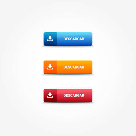 web buttons: Download Spanish Web Buttons