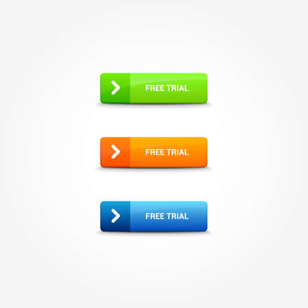 free trial: Free Trial Web Buttons
