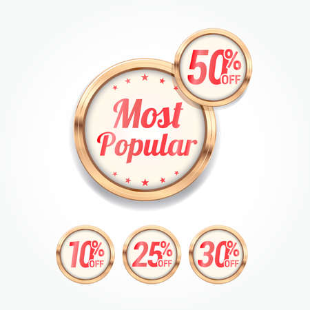 most popular: Most Popular % Off Labels