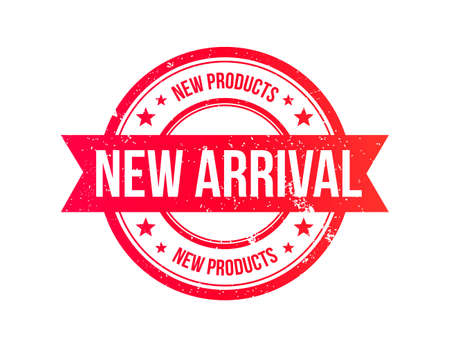 new arrivals: New Arrival Grunge Ribbon Stamp