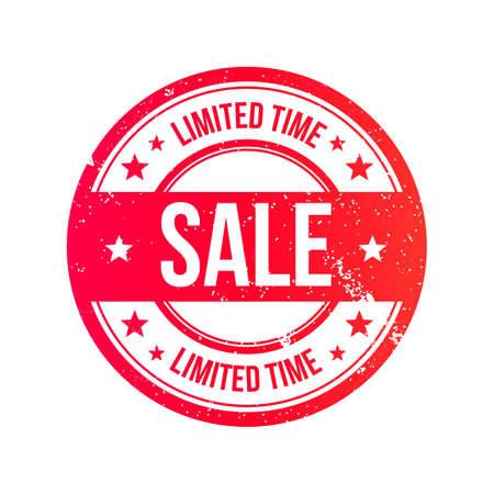 Sale Grunge Ribbon Stamp