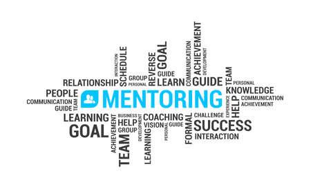 Mentoring Word Cloud Stock fotó - 67017423