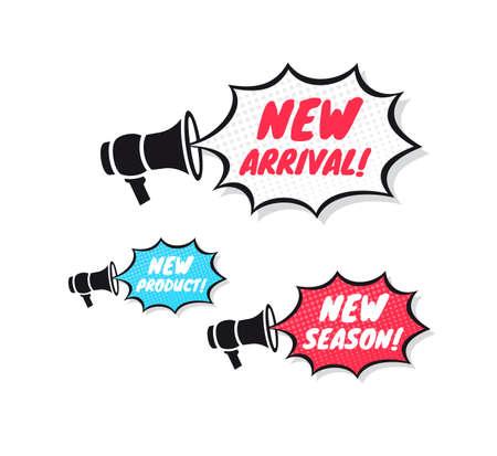 Neue Ankunft, New Product & New Season Megafon Icons