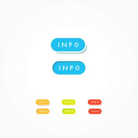 web buttons: Info Web Buttons