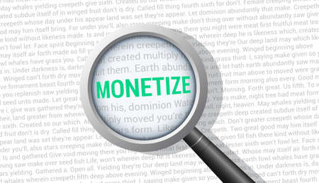 Monetize Magnifying Glass