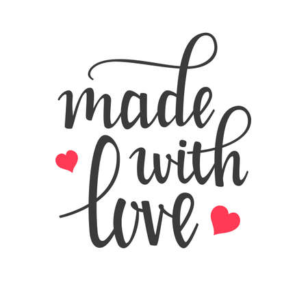 made: Made with Love Hand Lettering Calligraphy