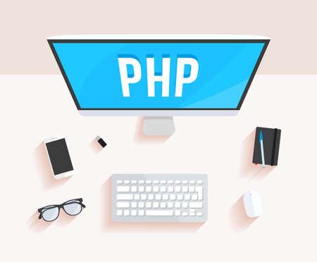 php: Php Hypertext Preprocessor Desktop Computer