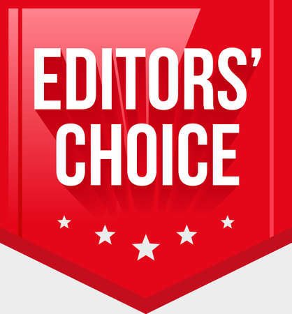 editors: Editors Choice Ribbon Illustration