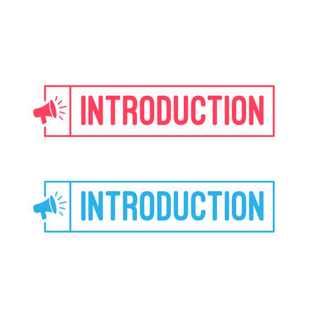 Introduction Megaphone Labels