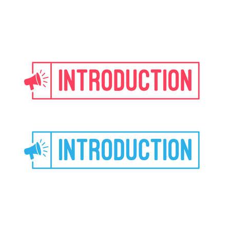 Introduzione Etichette Megaphone