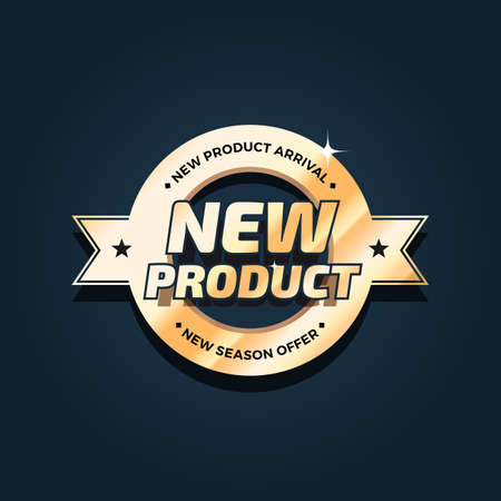 New Product Arrival Badge