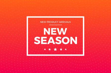 New Season Arrivals Label