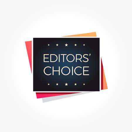 Editors' Choice Label