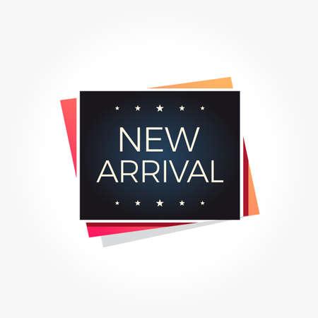 New Arrival Label Illustration