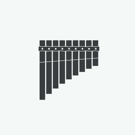 Pan Flute Vector Icon