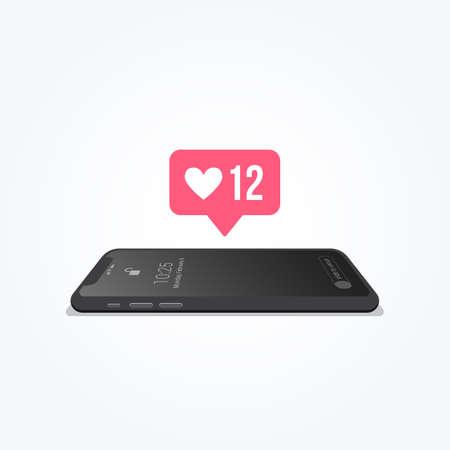 Phone Love Notification Icon