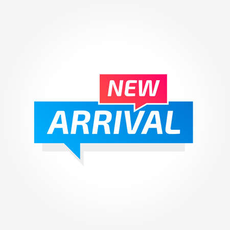 New Arrival Commercial Tag Archivio Fotografico - 100567374