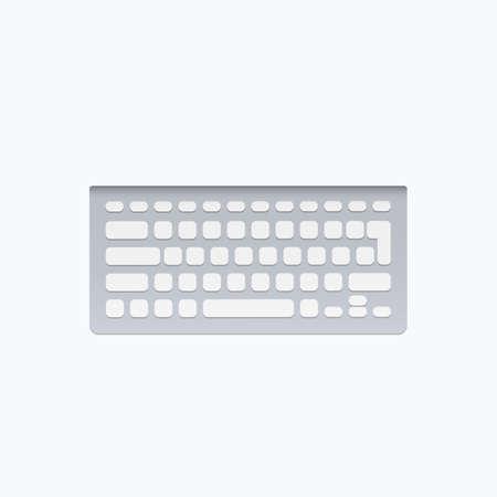 Computer Keyboard Vector Icon