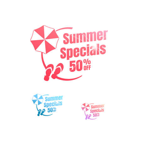 Summer Specials 50% Off Labels
