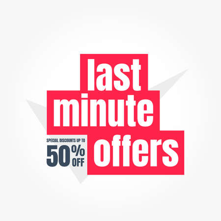 Last Minute Offers 50% Off Label